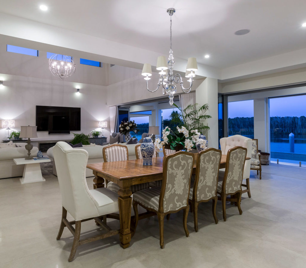 Vanessa Wood Interior Design Sanctuary Cove Dining