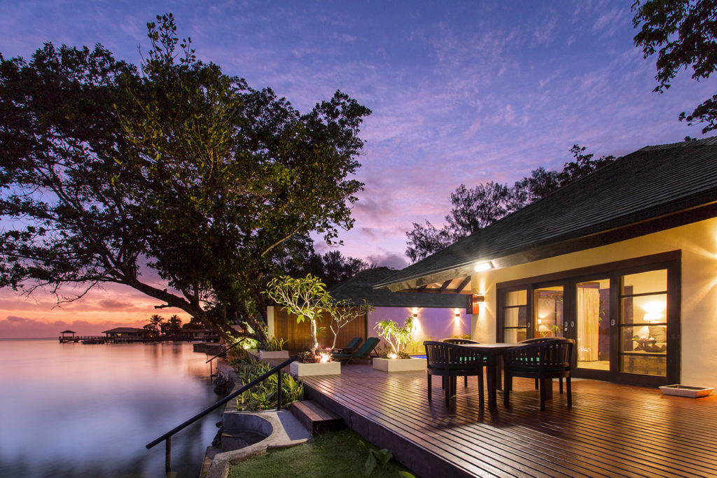 Vanessa Wood Interior Designer to Warwick Le Lagon Resort Vanuatu