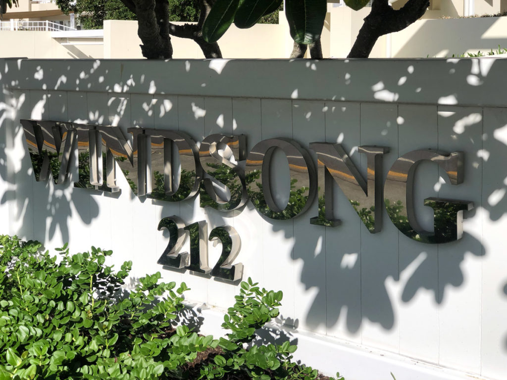 Vanessa Wood Interiors Windsong Development Entrance