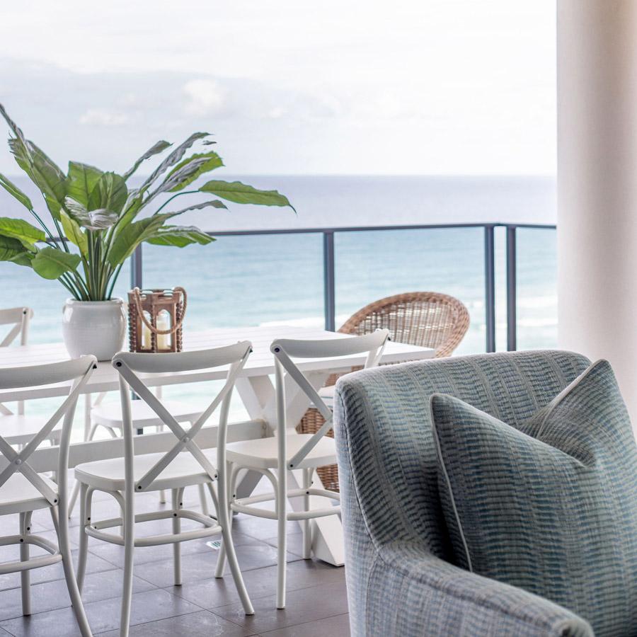 The Beach Escape Balcony