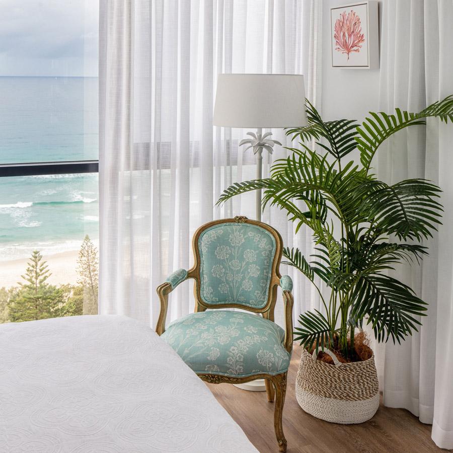 The Beach Escape Bedroom Corner