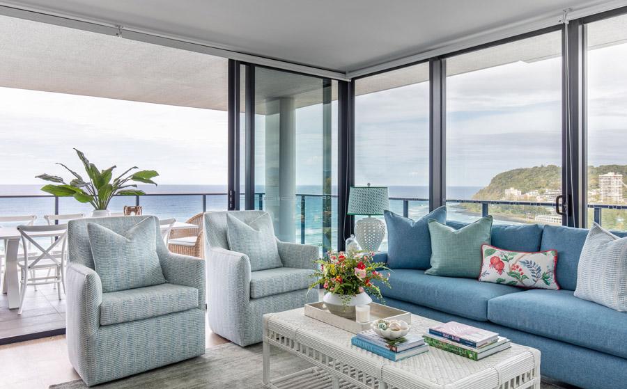 The Beach Escape Living Room