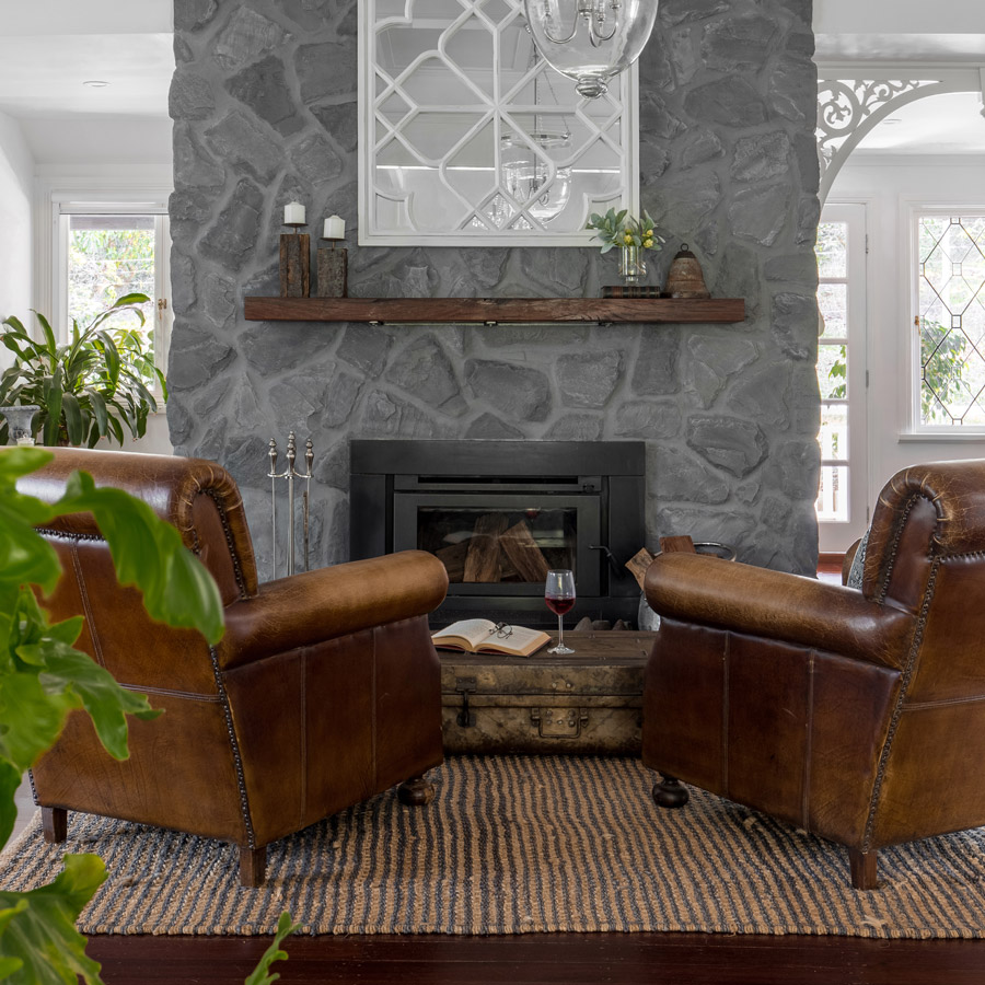 The Mountain House Fireplace