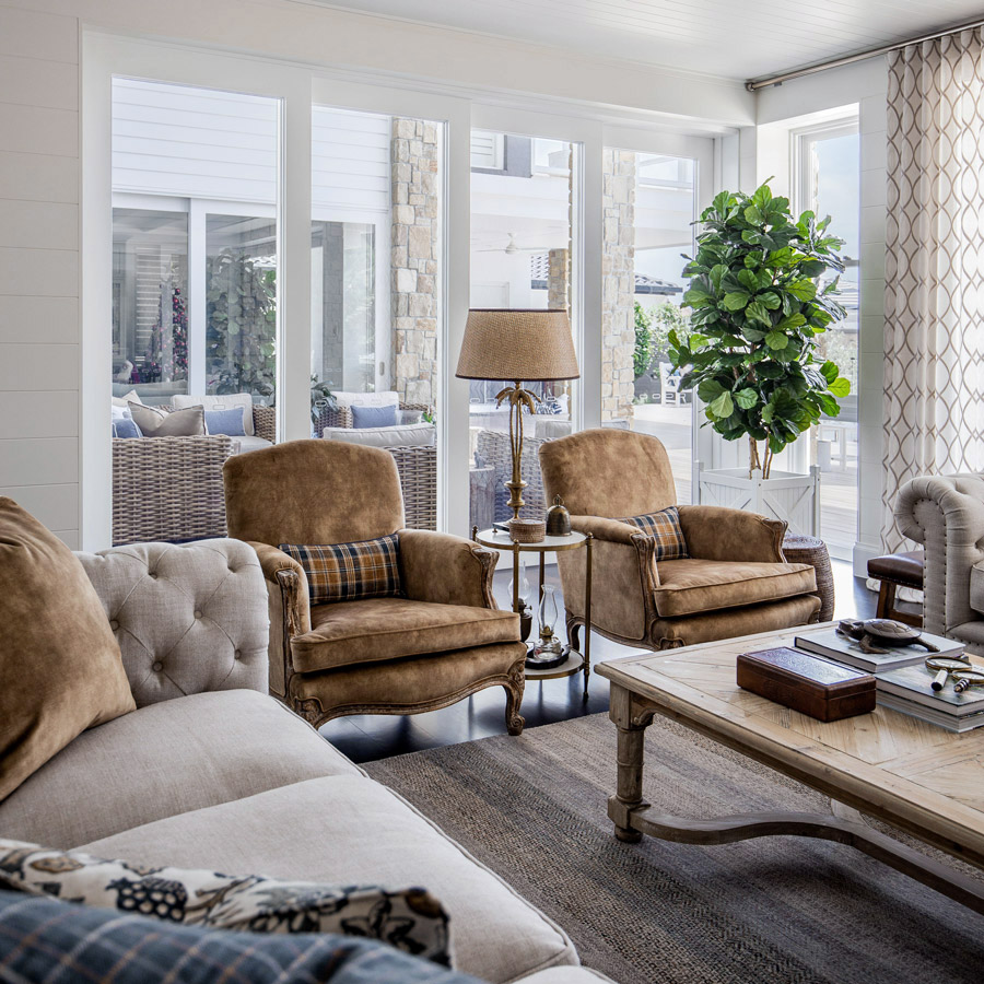 Vanessa Wood Interiors Ranch Lounge