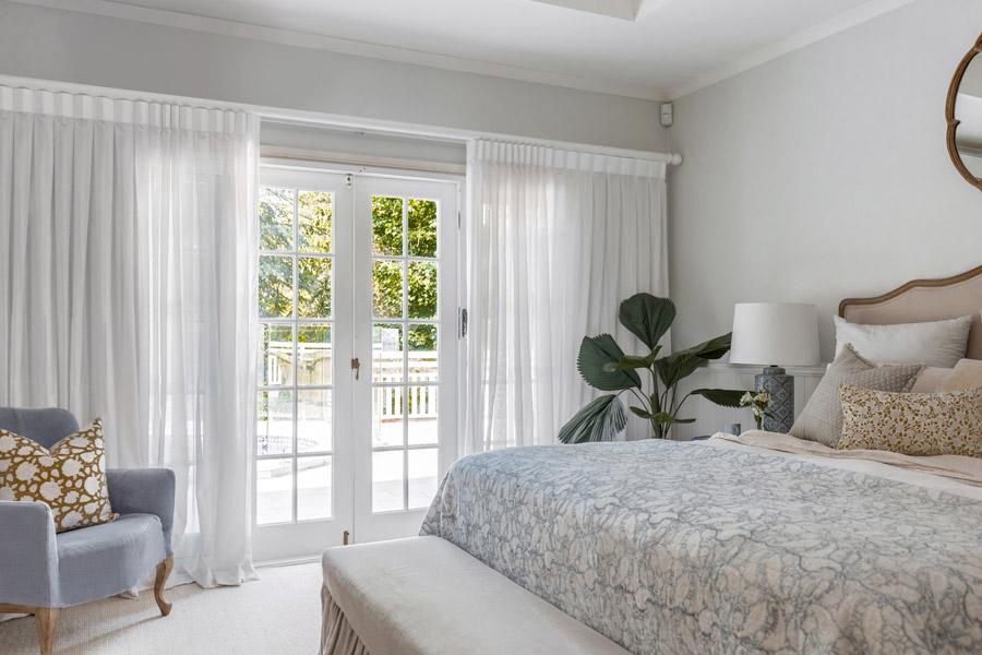 Vanessa Wood Interiors creates peaceful bedrooms
