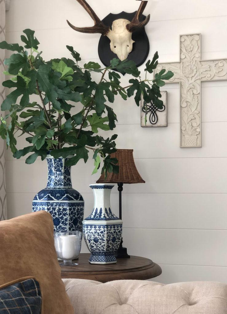 Vanessa Wood Interiors corner detail